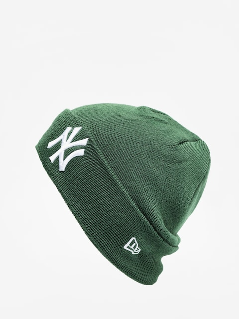 Čepice New Era League Essential Cuff Knit (green/optic white)