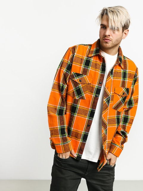 Košile Stussy Ace Plaid (orange)