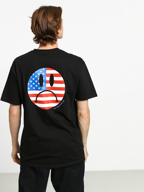 Tričko HUF Bummer Usa (black)