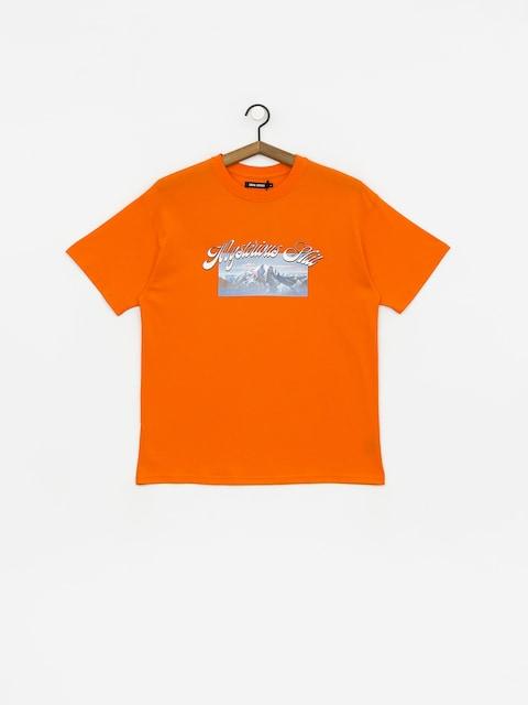 Tričko Local Heroes Mysteriuos Shit (orange)