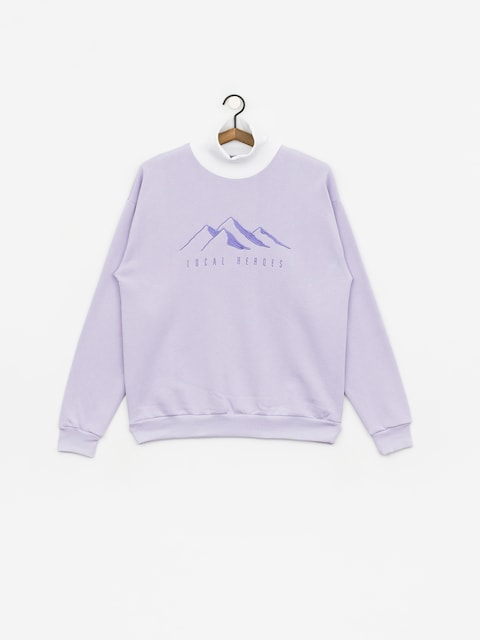 Mikina Local Heroes Lh Mountains Wmn (violet)