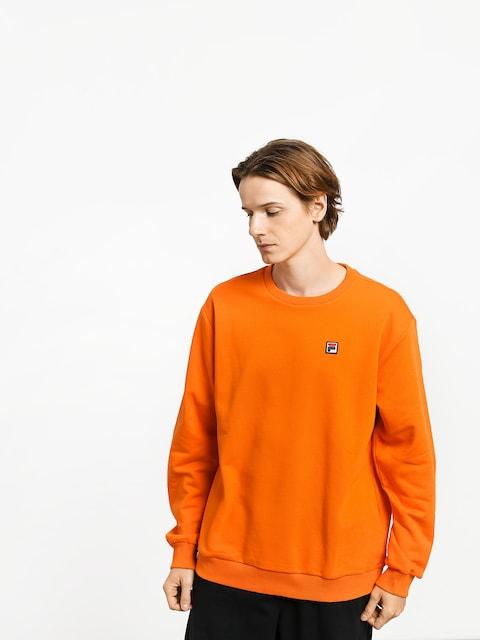 Mikina Fila Hector Crew (mandarin orange)