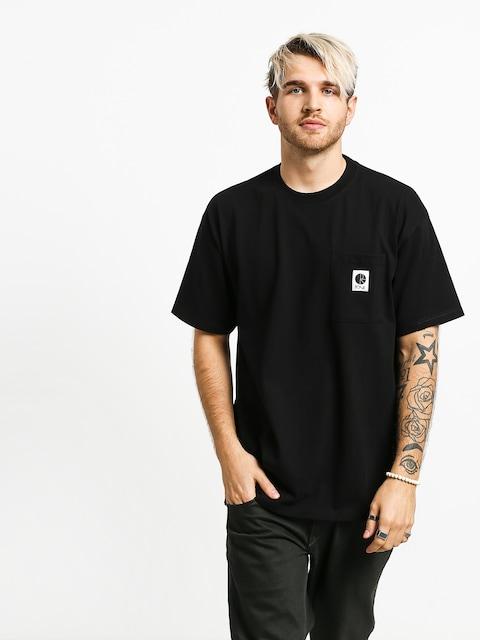 Tričko Polar Skate Pocket (black)