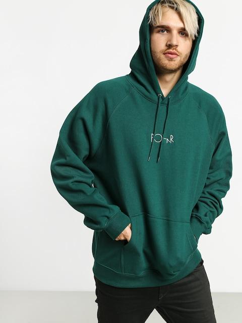 Mikina s kapucí Polar Skate Default HD (dark green)