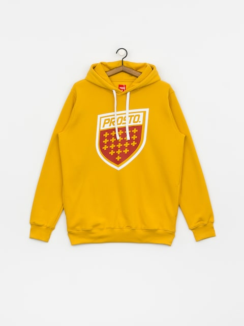 Mikina s kapucí Prosto Shield XX HD (yellow)