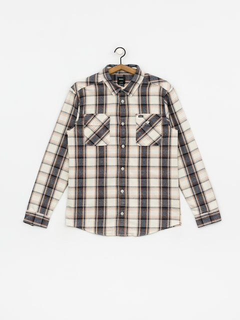 Košile RVCA Thatll Work Flannel (silver bleach)