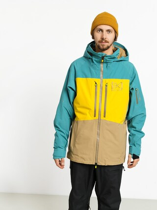 Snowboardovu00e1 bunda Burton Ak Gore Swash (gbslat/maize/kelp)