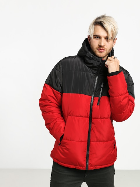 Bunda Prosto Winter Adament (black/red)