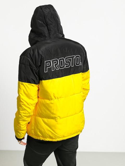 Bunda Prosto Winter Adament (black/yellow)