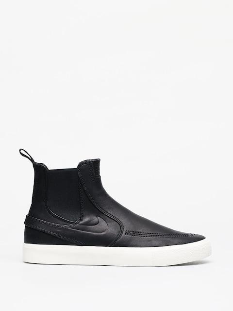 Boty Nike SB Zoom Stefan Janoski Slip Mid Rm (black/black pale ivory black)