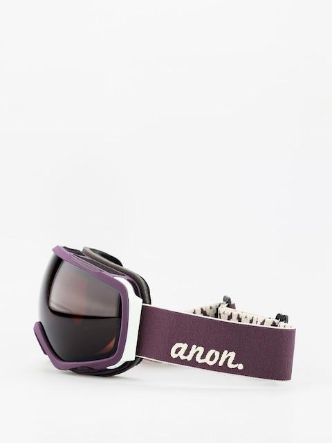 Brýle na snowboard Anon Tempest Wmn (purple/sonar smoke)