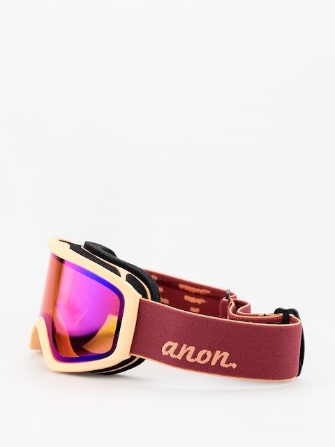 Brýle na snowboard Anon Insight Sonar Spare Wmn (ruby/sonar infared blue)