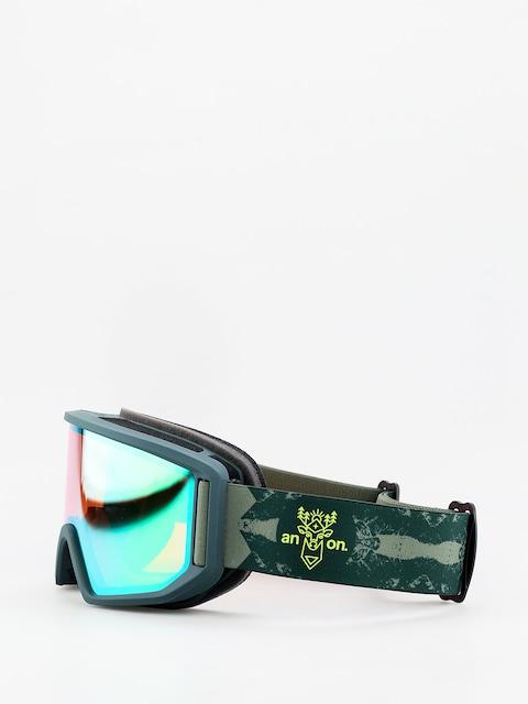 Brýle na snowboard Anon Relapse (deermtn/sonar green)