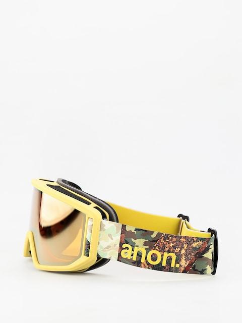 Brýle na snowboard Anon Relapse (camo/sonar bronze)