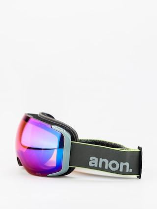 Bru00fdle na snowboard Anon M2 W Spare (gray pop/sonar infared blue)