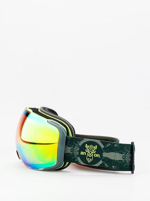 Brýle na snowboard Anon M2 W Spare (deermtn/sonar green)