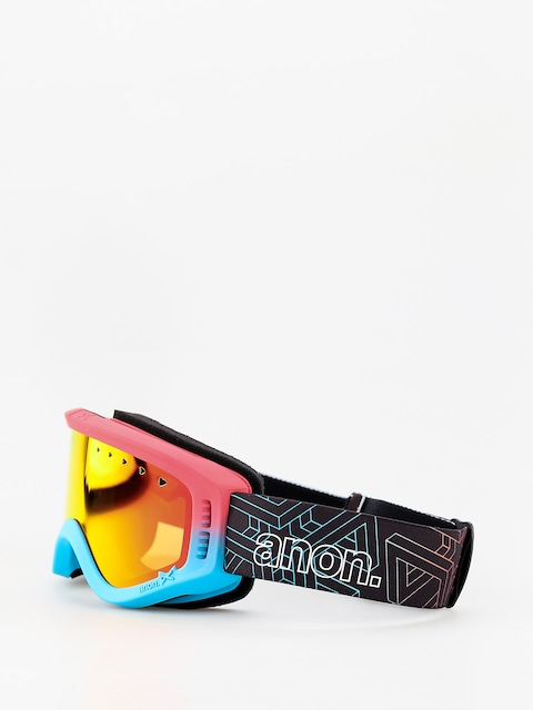 Brýle na snowboard Anon Tracker (impossible/red amber)