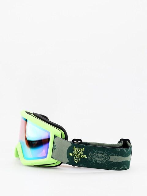 Brýle na snowboard Anon Helix 2 Sonar W Spare (deermtn/sonar green)