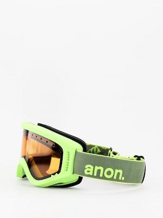 Bru00fdle na snowboard Anon Tracker (green/amber)
