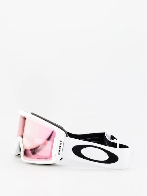 Brýle na snowboard Oakley Line Miner Xm (matte white/prizm snow hi pink iridium)
