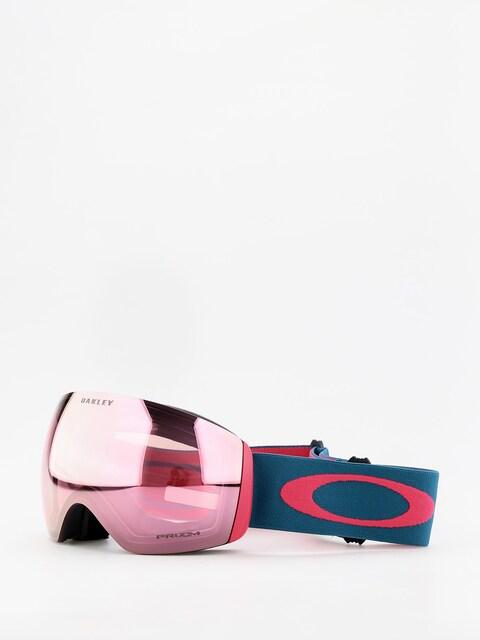 Brýle na snowboard Oakley Flight Deck (blue/prizm snow hi pink iridium)