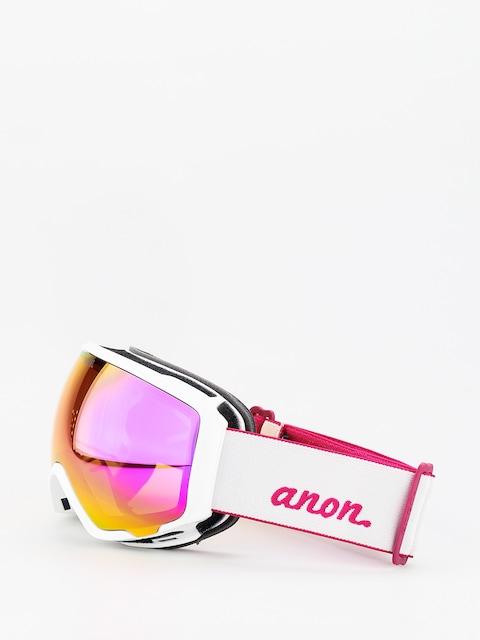 Brýle na snowboard Anon WM1W Spare Wmn (pearl white/sonar pink)