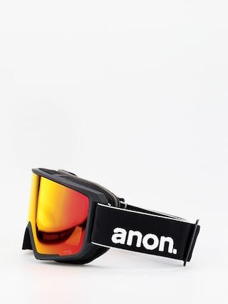 Bru00fdle na snowboard Anon M3 W Spare (black/sonar red)