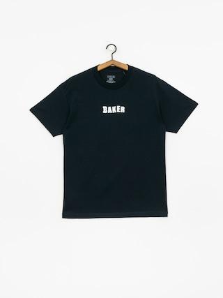 Tričko Baker Brand Logo (navy)