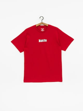Tričko Baker Brand Logo (cardinal)