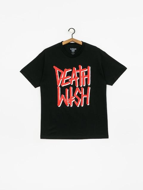 Tričko Deathwish Deathstack Og (black/red)