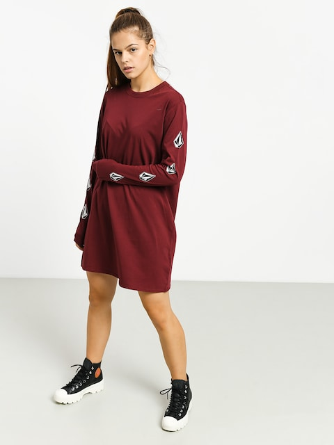 Šaty  Volcom What A Trip Dress Wmn (zinfandel)