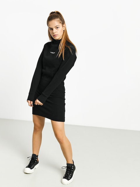 Šaty  Volcom Eavy Dress Wmn (black)