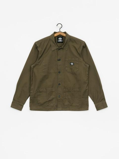Košile Dickies Caprock (dark olive)