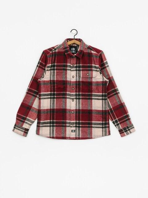 Košile Dickies Melber (maroon)