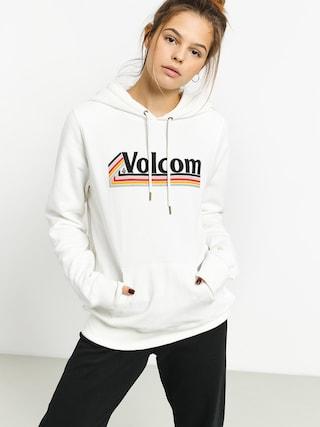 Mikina s kapucu00ed Volcom Vol Stone HD Wmn (star white)