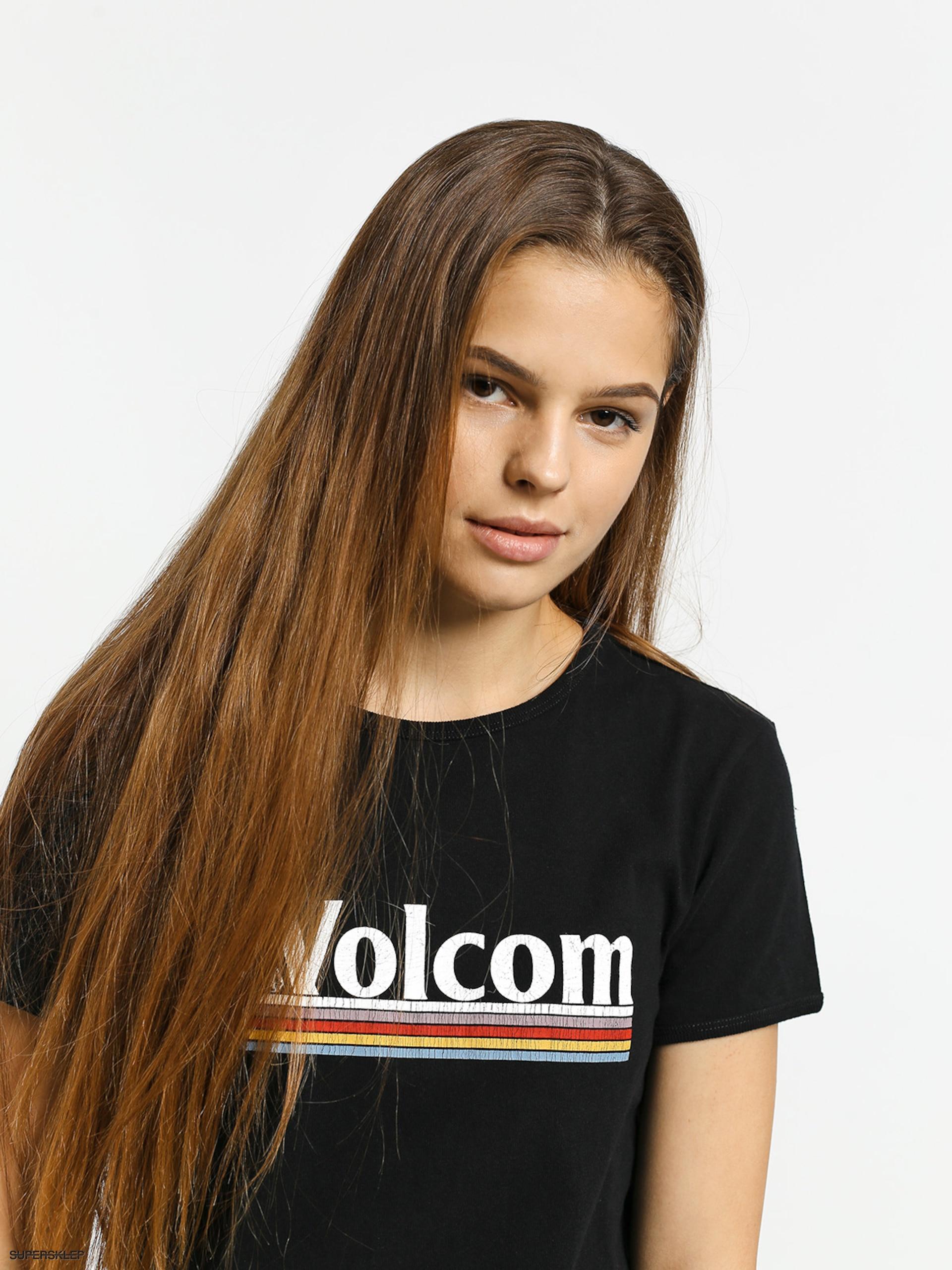 Keeps On Ringing: Tričko Volcom Keep Goin Ringer Wmn (black
