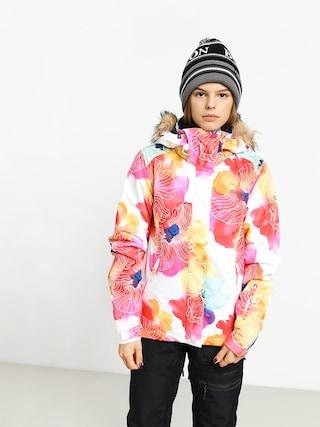 Snowboardovu00e1 bunda Roxy Jet Ski Wmn (aquarel flowers)