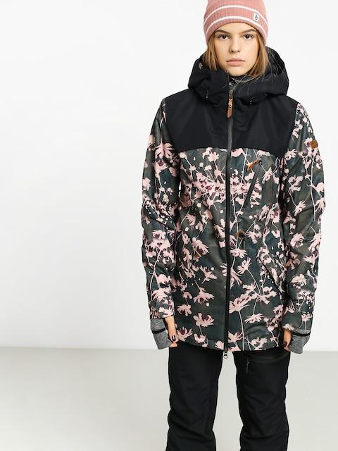 Snowboardová bunda Roxy Stated Wmn (poppy)
