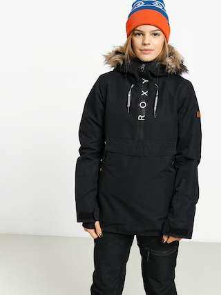 Snowboardovu00e1 bunda Roxy Shelter Wmn (true black)