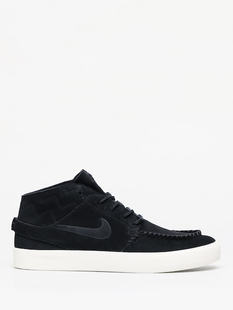 Boty Nike SB Zoom Janoski Mid Crafted (black/black pale ivory)