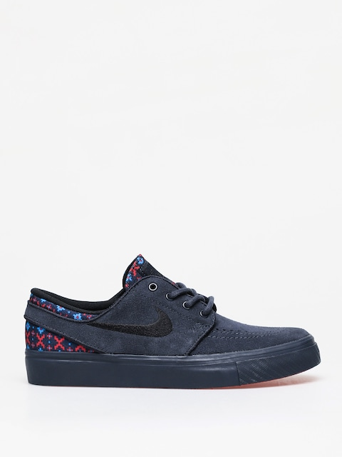 Boty Nike SB Stefan Janoski Suede Premium (dark obsidian/black dark obsidian)