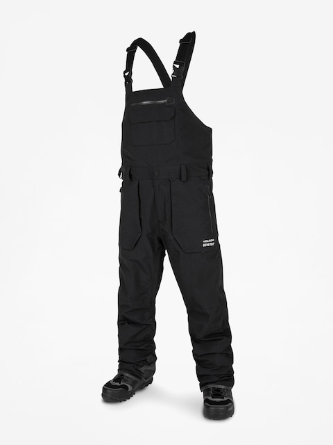 Snowboardové kalhoty  Volcom Rain Gore Bib Overall (blk)