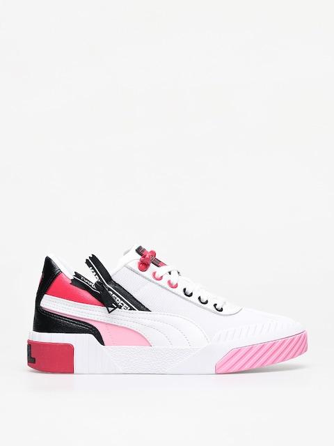 Boty Puma X Karl Lagerfeld Cali Wmn (puma white/puma white/prism pink)