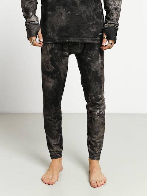 Spodní termoprádlo Burton Midweight Pant (marble galaxy print)