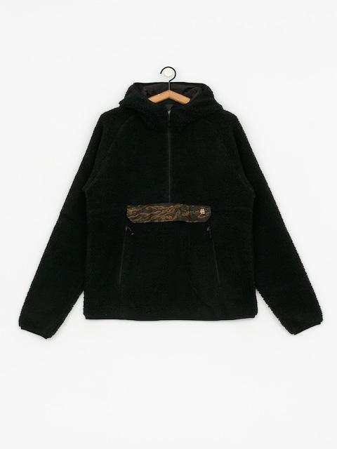 Mikina s kapucí Etnies Eta Coda Sherpa HD (black)