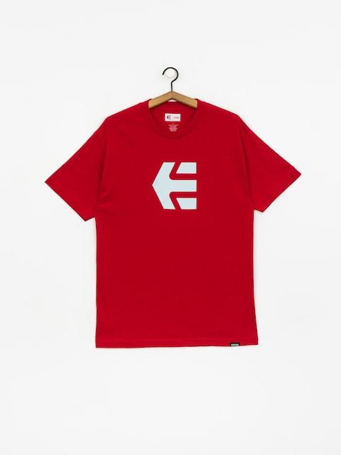 Tričko Etnies Icon (cardinal)