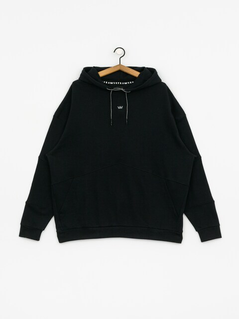 Mikina s kapucí Supra 92 Fleece HD (black)