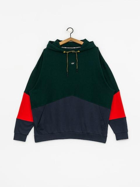 Mikina s kapucí Supra 92 Fleece HD (evergreen)