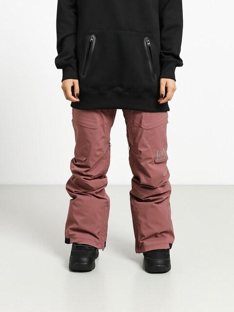Snowboardové kalhoty Burton Ak Gore Summit ins Wmn (rose brown)