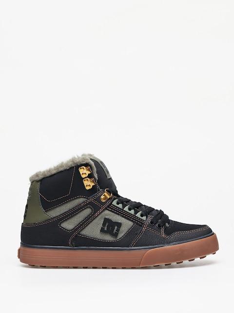 Zimní boty DC Pure Ht Wc Wnt (black/olive)